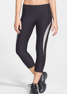 Betsey Johnson Piped Capri Leggings