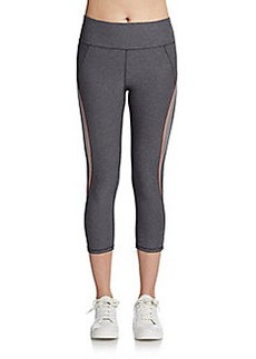 Betsey Johnson Piped Performance Leggings