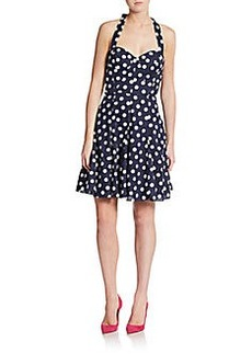 Betsey Johnson Polka Dot A-Line Dress