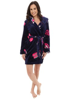 Betsey Johnson Pop Art Love Plush Robe