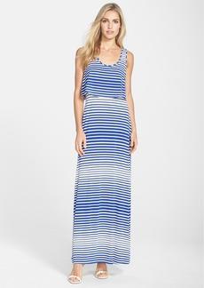 Betsey Johnson Popover Jersey Maxi Dress