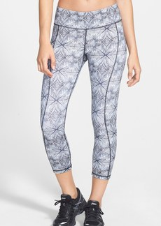 Betsey Johnson Print Capri Leggings
