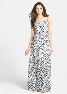 Betsey Johnson Print Knit Maxi Dress