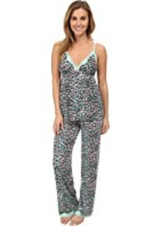 Betsey Johnson Rayon Knit PJ Set