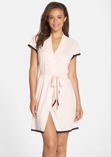 Betsey Johnson Rib Knit Robe