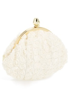Betsey Johnson Rosette Coin Purse