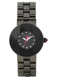 Betsey Johnson Round Bracelet Watch, 33mm
