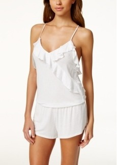 Betsey Johnson Ruffle-Trim Knit Romper 7301103