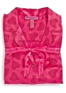 Betsey Johnson Satin Pajamas