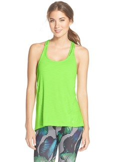 Betsey Johnson Scalloped Space Dye Tank