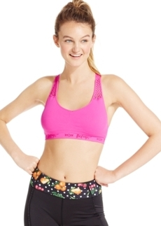 Betsey Johnson Seamless Low-Impact Racerback Sports Bra