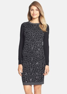 Betsey Johnson Sequin Sweater Dress