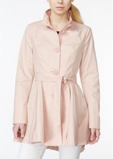 Betsey Johnson Skirted Trench Coat