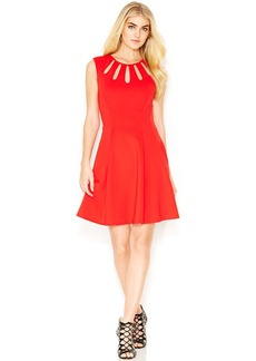 Betsey Johnson Sleeveless Cutout Dress
