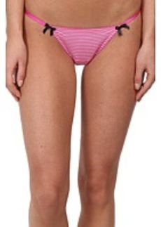 Betsey Johnson Slinky Knit Cheeky Thong