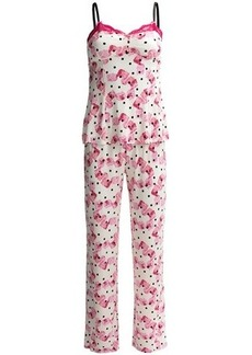 Betsey Johnson Slinky Knit Pajamas - Spaghetti Straps (For Women)