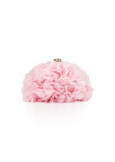 Betsey Johnson Soft Flower Clutch Bag