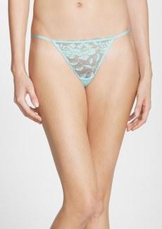 Betsey Johnson 'Starlet' Lace Thong