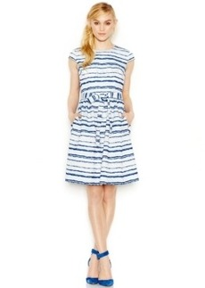 Betsey Johnson Striped A-Line Dress