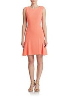 BETSEY JOHNSON Textured Drop Waist Dress