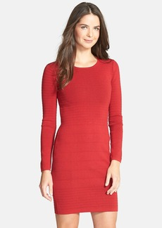Betsey Johnson Textured Knit Body-Con Dress