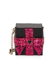 Betsey Johnson That's A Wrap Sequined Crossbody Bag