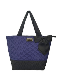 BETSEY JOHNSON Tie The Knot Quilted Tote