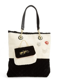 Betsey Johnson 'Trendy Shopper' Tote