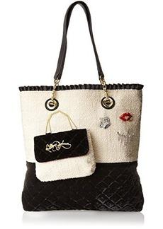 Betsey Johnson Trendy Shopper Tote