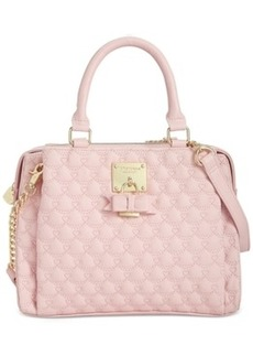 Betsey Johnson Triple Compartment Satchel