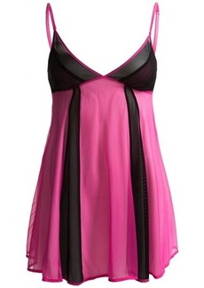 Betsey Johnson Tulle Babydoll Chemise and Panties (For Women)