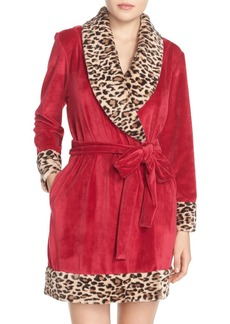 Betsey Johnson Velour Robe