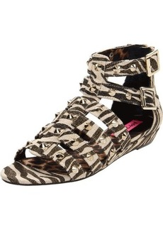 Betsey Johnson Women's Aeroo Wedge Sandal