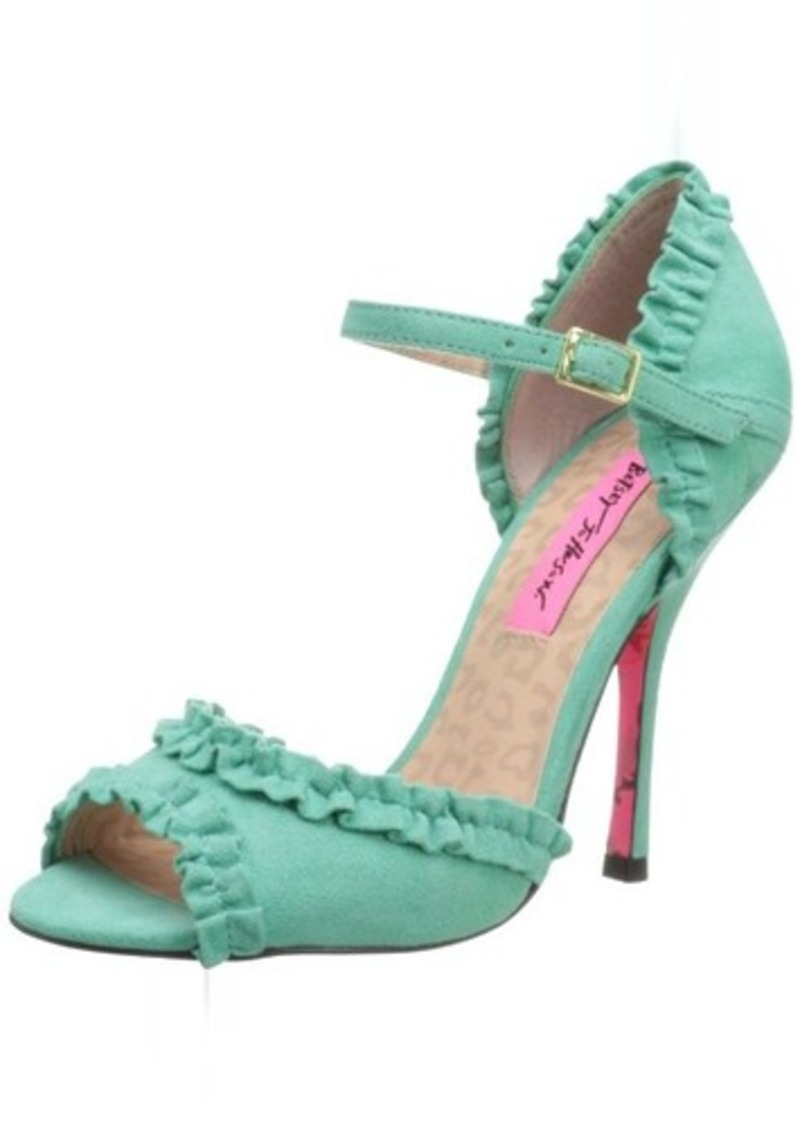 Betsey Johnson Women's Balladd Pump