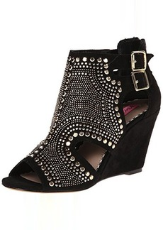 Betsey Johnson Women's Dazzzler Wedge Sandal