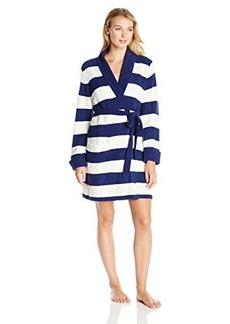 Betsey Johnson Women's Knit Heart Robe