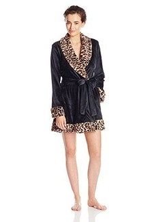 Betsey Johnson Women's Luxe Velour Robe