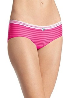 Betsey Johnson Women's Stripe Hype Hipster