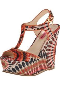 Betsey Johnson Women's Taelyn Wedge Sandal