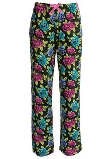 Betsey Johnson Woven Printed Pants (For Women)