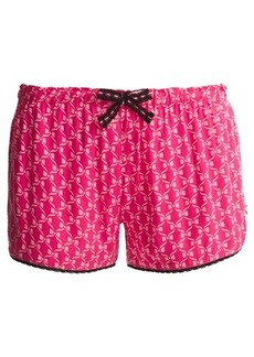 Betsey Johnson Woven Printed Shorts (For Women)