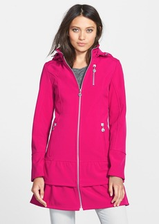 Betsey Johnson Zip Front Jacket with Detachable Hood