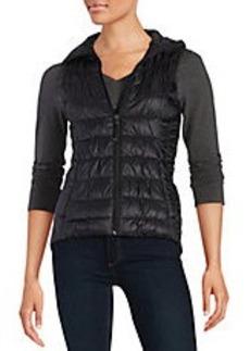 BETSEY JOHNSON Zip-Front Puffer Vest