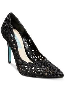 Blue by Betsey Johnson Elsa Evening Pumps Women's Shoes