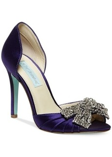 Blue by Betsey Johnson Gown Evening Pumps Women's Shoes