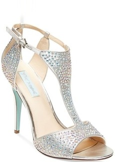 Blue by Betsey Johnson I Do Evening Sandals Women's Shoes
