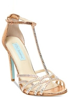 Blue by Betsey Johnson Ruby Evening Sandals Women's Shoes