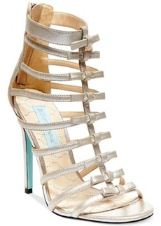 Blue by Betsey Johnson Tie High Heel Evening Sandals Women's Shoes