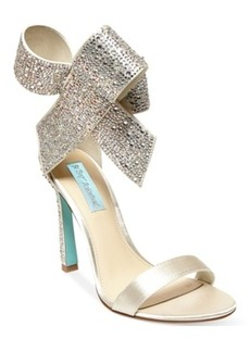 Blue by Betsey Johnson Up Do Evening Sandals Women's Shoes