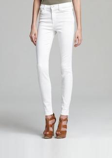 J Brand Jeans - High Rise Maria Skinny in Blanc